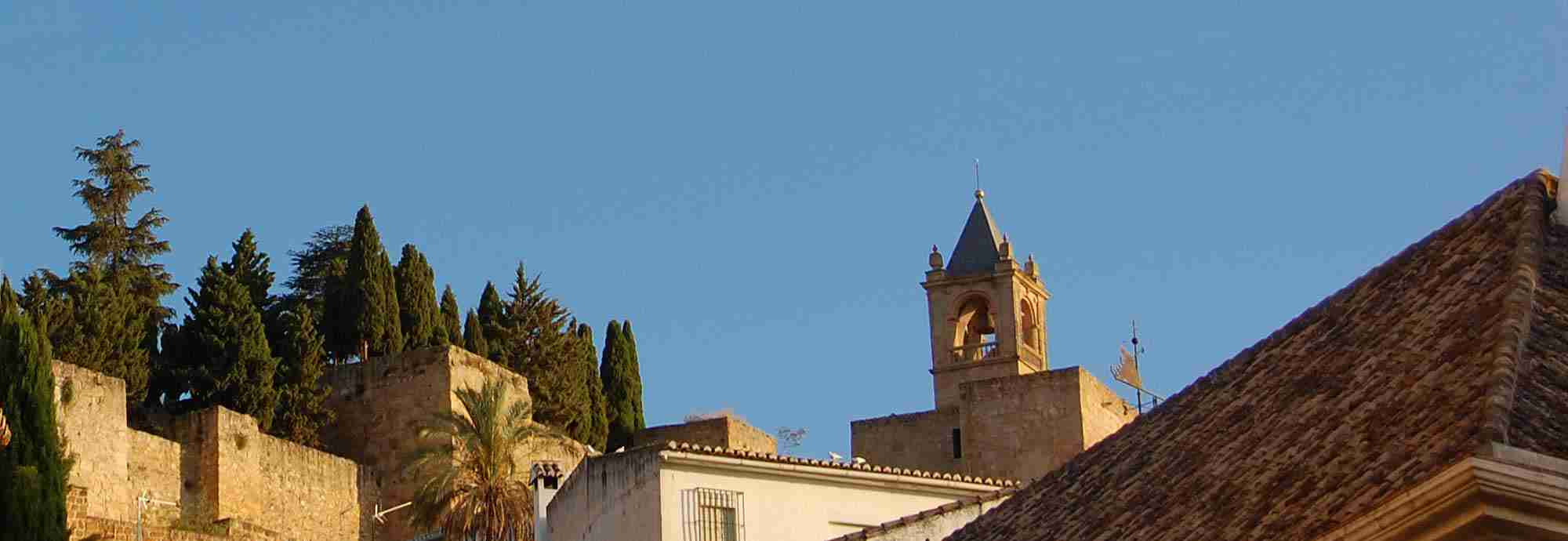 Walk into village or town Holiday  Villas in Antequera near the beach